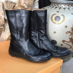 TODS Pellane gloss boots